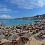 Super Paradise Beach Mykonos Greece