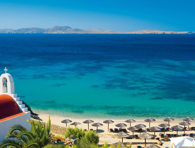 Best Island Beaches For Partying Mykonos St Barts: Agios Ioannis Beach In Mykonos Island, Greece