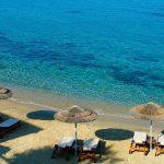 agios ioannis beach in mykonos island