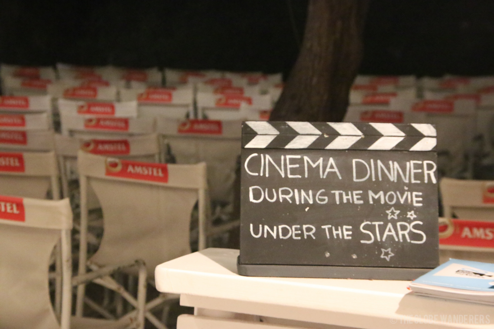 10 Reasons to go to Mykonos - cinema under the stars - cinema under the stars