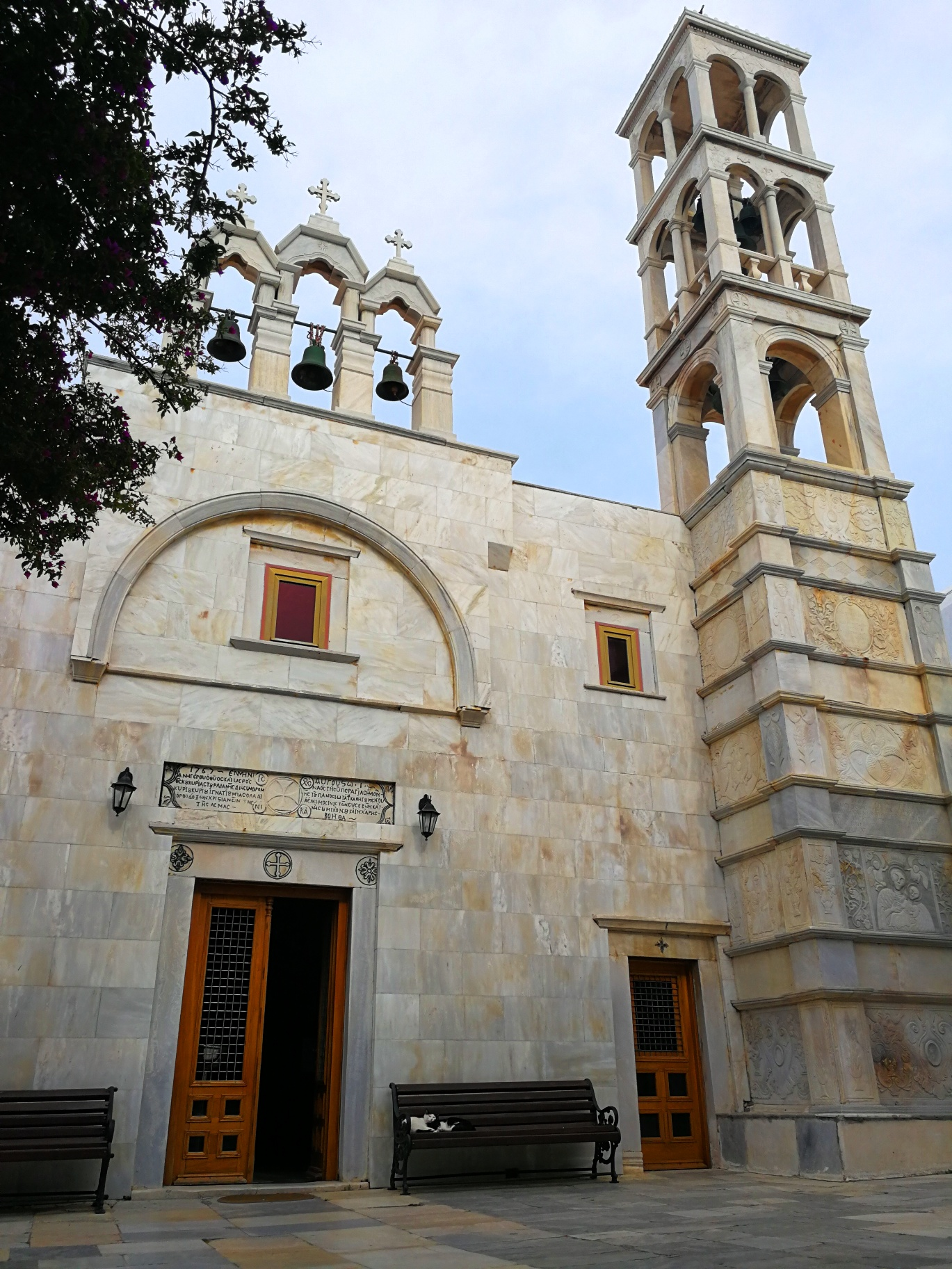 Mykonos - Monastery of Panagia Tourliani