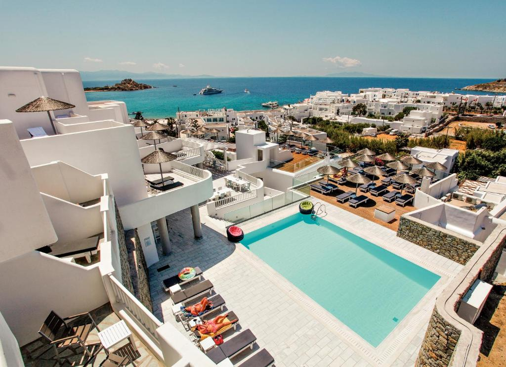 The George Mykonos Hotel 4 Star Hotel At Platis Gialos Beach