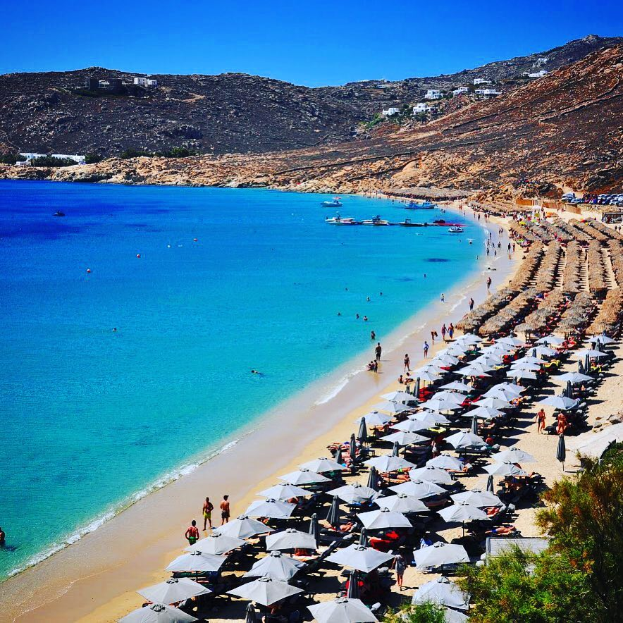 Elia beach Mykonos island, Greece - Mykonos Traveller