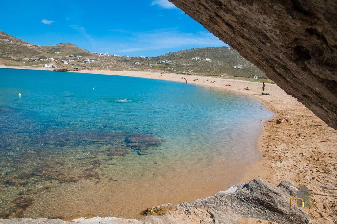 Ftelia beach Mykonos island, Greece - Mykonos Traveller