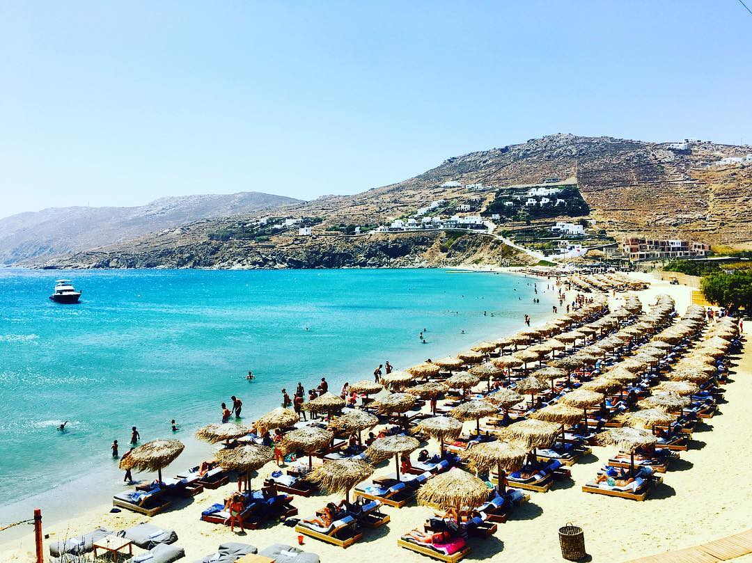 Kalo Livadi beach Mykonos island, Greece - Mykonos Traveller