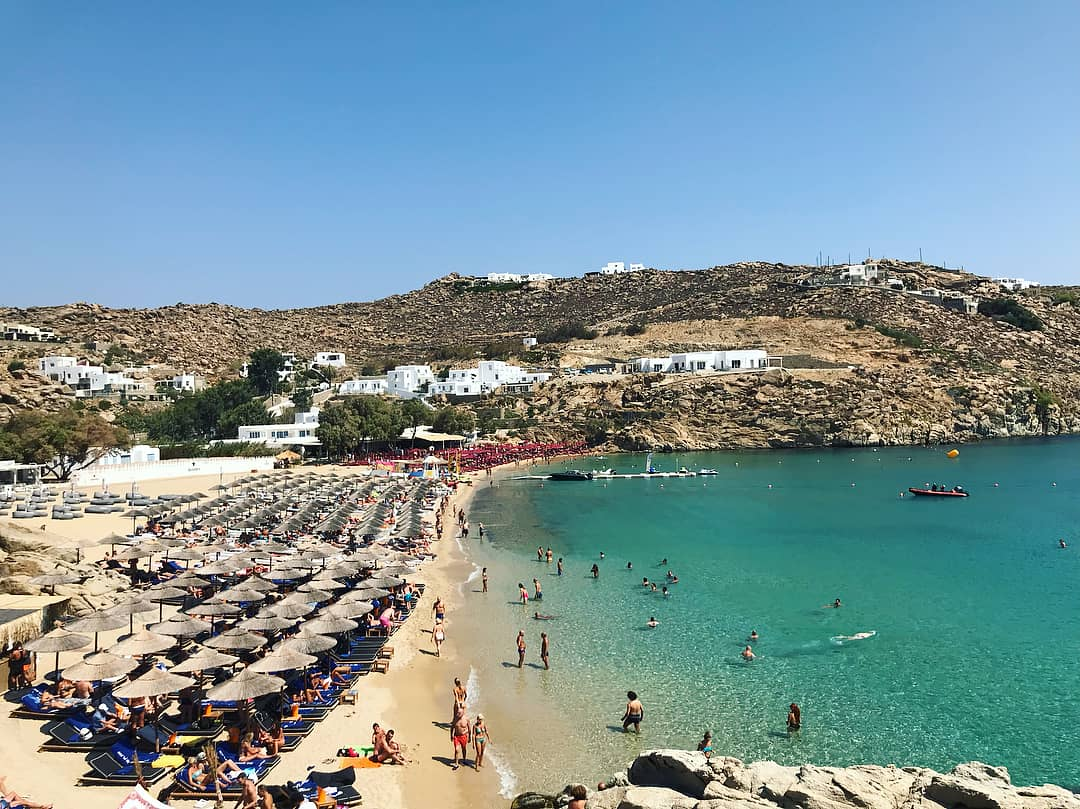 Best Island Beaches For Partying Mykonos St Barts: Mykonos Beaches: Information For All Beaches In Mykonos Island