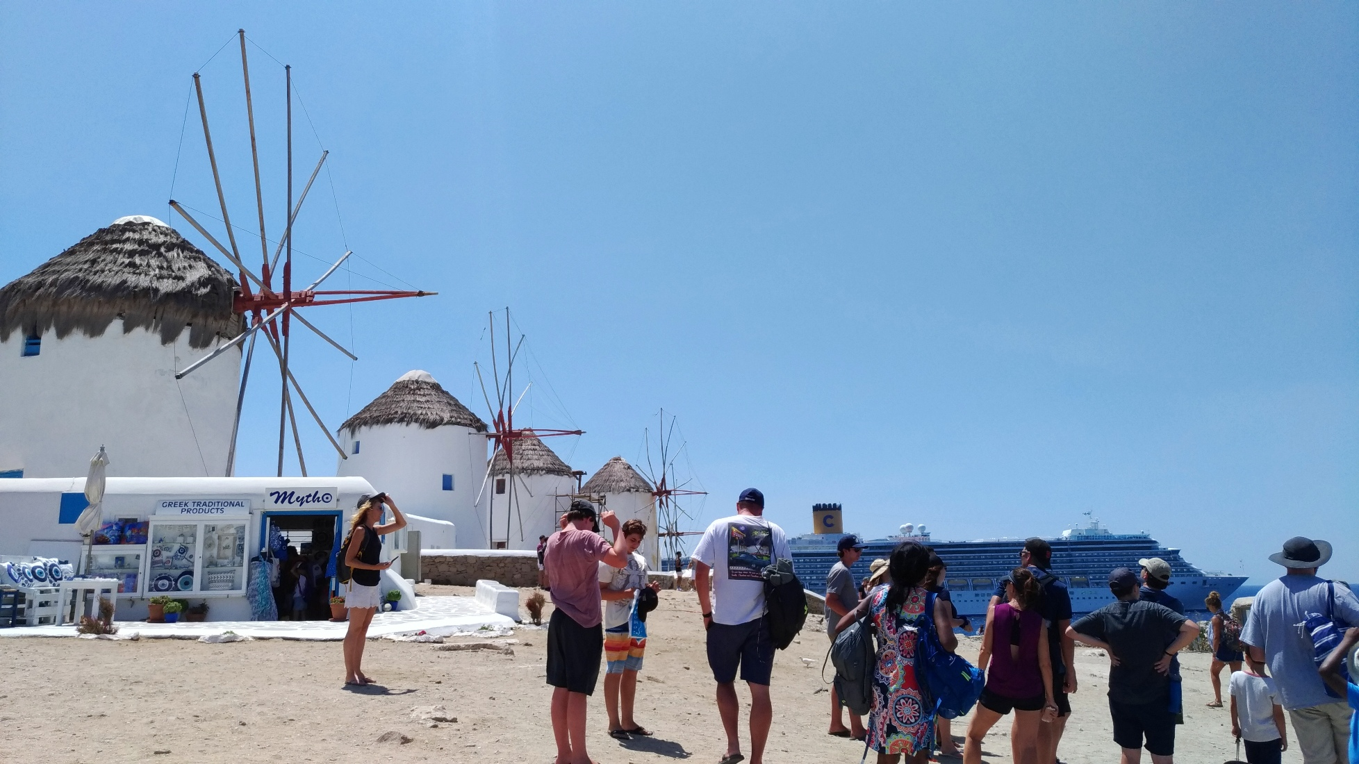 Windmills of Kato Mili Mykonos island, Greece - Best Things to Do in Mykonos