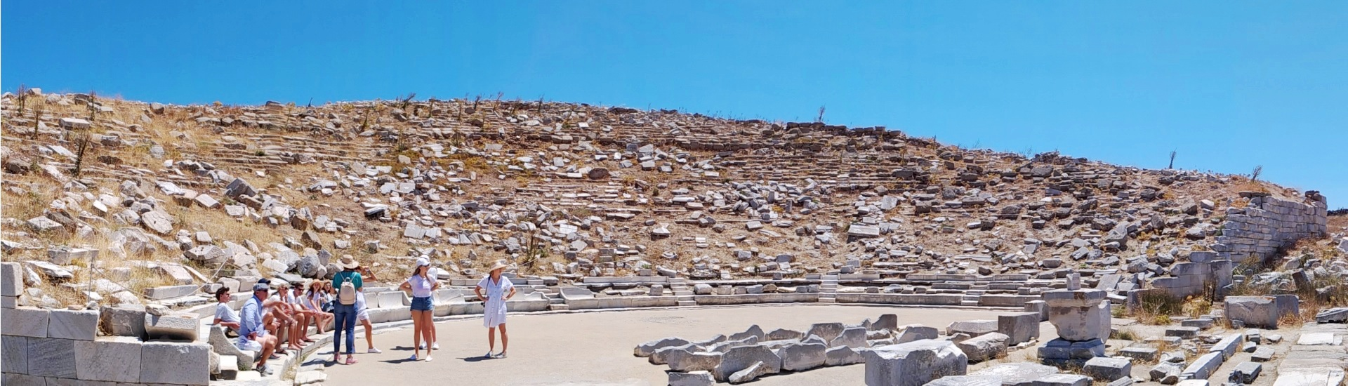 Dicover Delos Cruise - Ancient Delos Tour with Guide from Mykonos