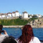 Rhenia & Sunset cruise from Mykonos