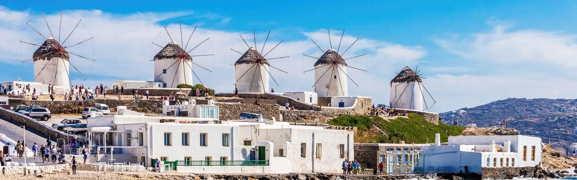 Mykonos Town Walking Tour